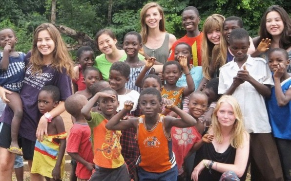 The humanitarian / sustainable development projects are life changing experiences for our students.