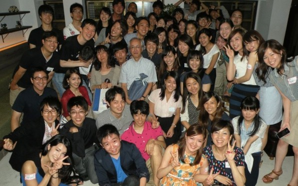 Many people turned up at the 2014 Tokyo reunion. Great!