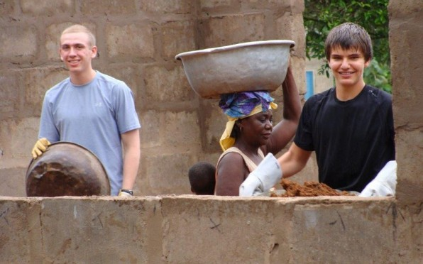 The SDP/Humanitarian Project Trips are filled with hard work, friendship and new view points.
