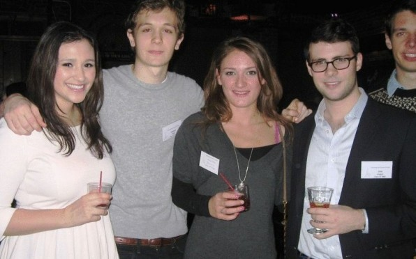 Some of our young alumni at the NYC reunion in 2012