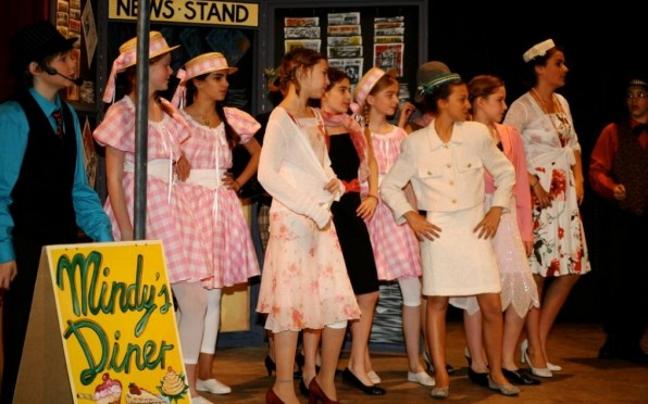 Guys and Dolls set and costumes were fabulous, just like the acting and music!