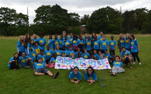 Happy Campers! Summer Hype attendees.