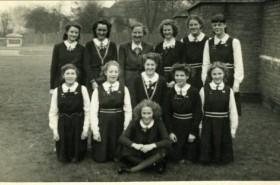 Miss Knott, PE Mistress at JAGS & Captain of All-England Hockey team 1930s