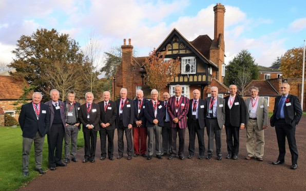 Back in the Red House Garden 50 and 60 years on (can you name them all?)