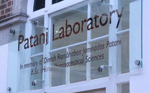 The newly opened Patani Laboratory!