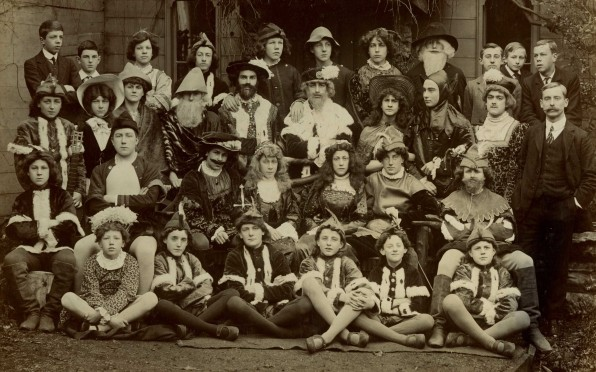 As you like it, 1910 JLS cast, in the days before girls...