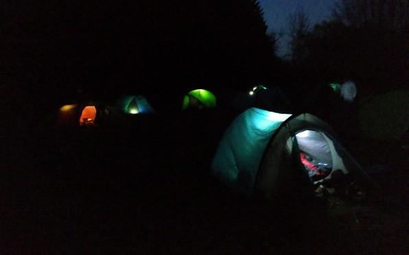 April 2019 the campsite