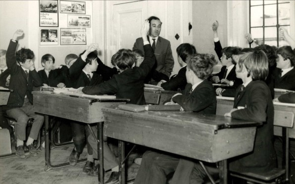1st Form French Red House Classroom 1970