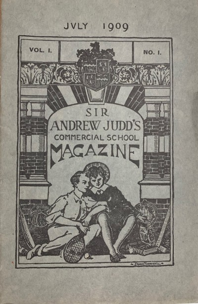 Gallery - First Two Editions of The Juddian Magazine - 1909