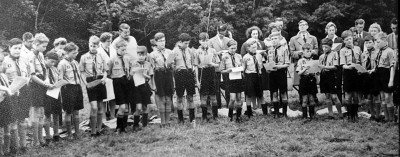 Gallery - Scout Camp at Cumtydu, 1964