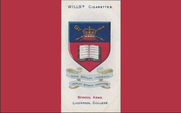 Cigarette card 1906