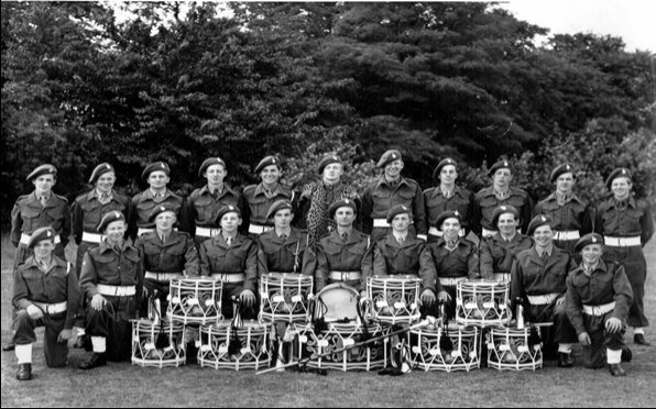 Brooks 1951 and CCF Drum Corps 1951