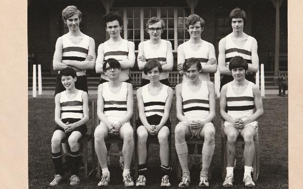 U.16 Cross Country Team 1971