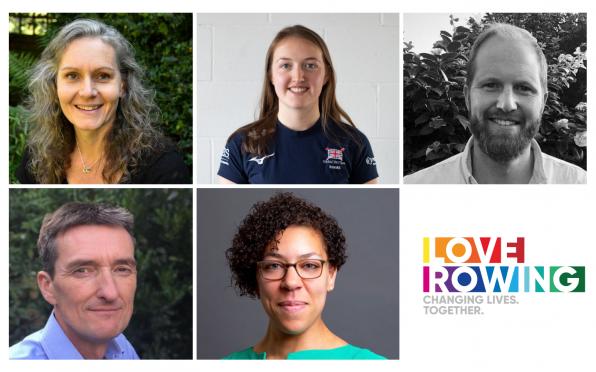 Clockwise from top left: Cath Bishop, Ellen Buttrick, Richard Woods, Nick Steel, Francesca Jus-Burke