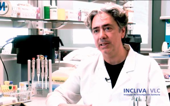 Dr. Francisco Dasí, investigador de enfermedades raras respiratorias en INCLIVA - Foto: INCLIVA