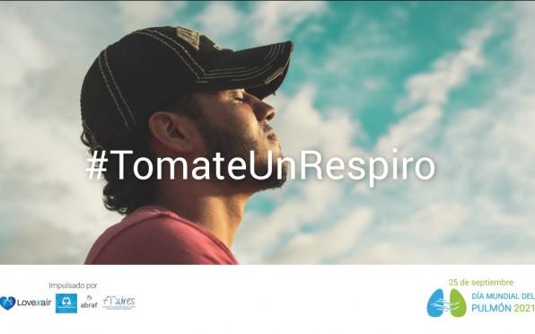 La campaña #TomateUnRespiro del mes de septiembre.