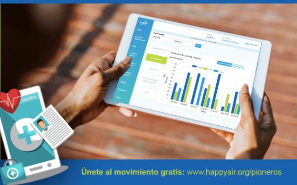 HappyAir Pioneros es un programa de seguimiento y cuidados para las personas con Alfa1 y EPOC.