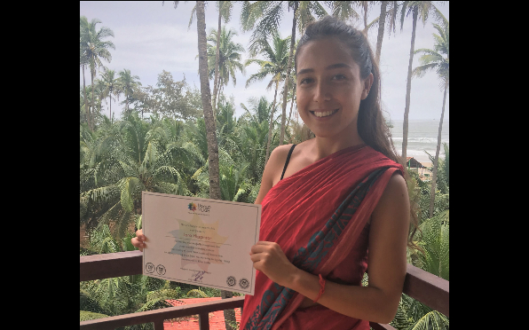 Yoga Teacher Training Completed: Goa, Oct 2019