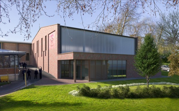What the Sports Hall will look like