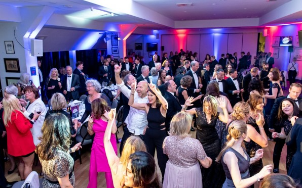 Guests Celebrate A Record Fundraising Total