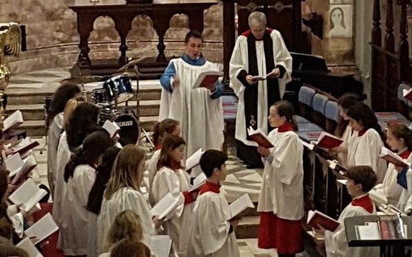 The Big Sing Chapel Service
