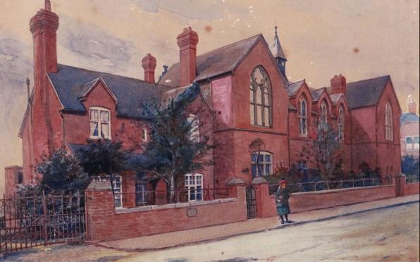 Victoria Site Watercolour from 1907