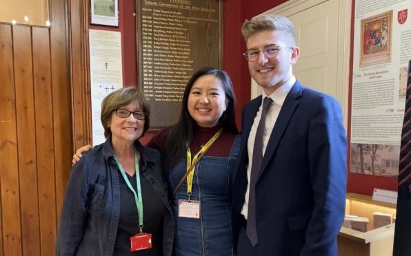 Mrs Beer, Christina Lan and Dom Walmsley