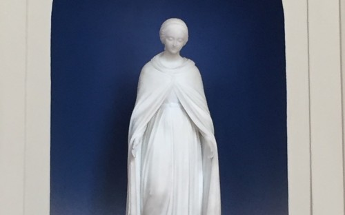 Our 'Lady of New Hall' chapel statue