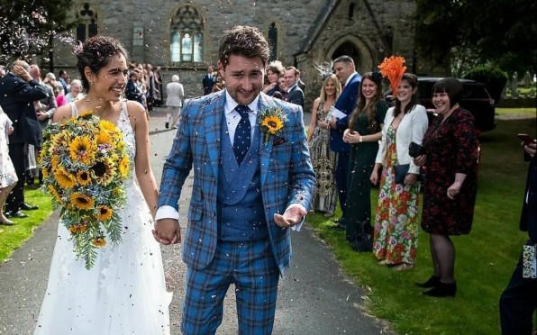 Hannah-May Elmasy and Tristan Hartey get married