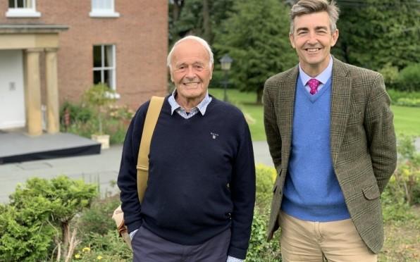 David Tomley and Julian Noad