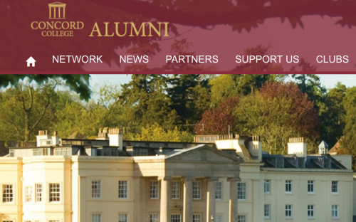 Concord College Launch Email