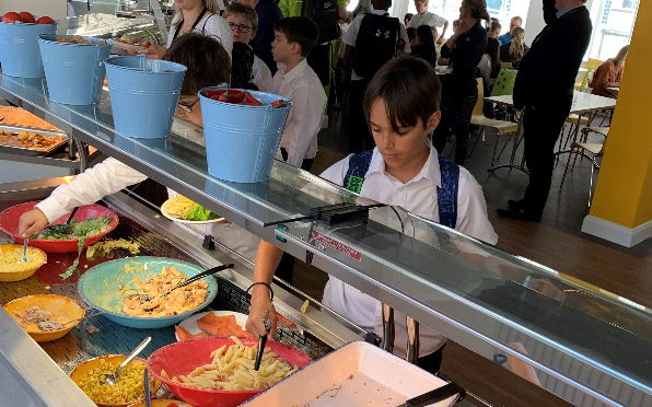 Portland Place School unveils new dining facility