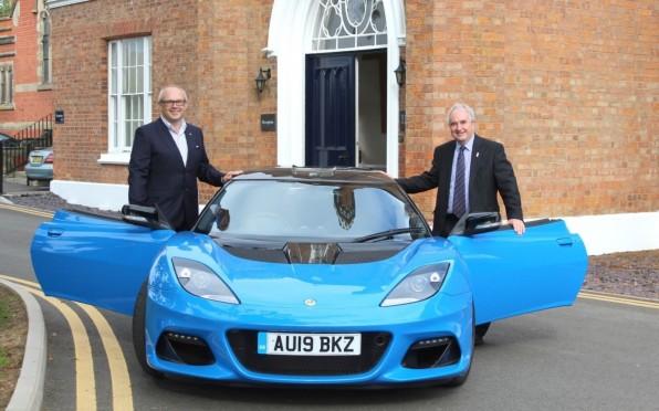 Nigel Bromley with Alex Darkes