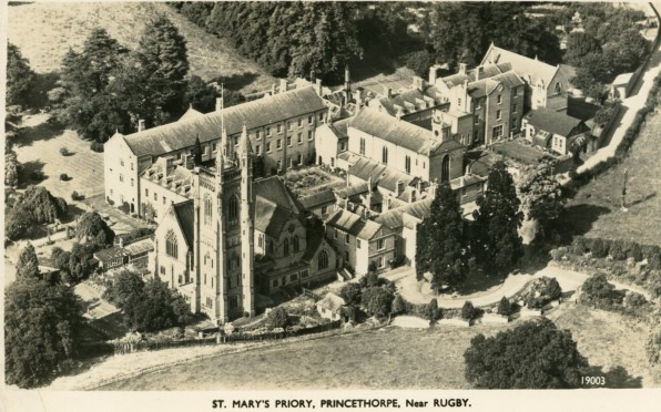 Aerial View of St. Mary's Priory