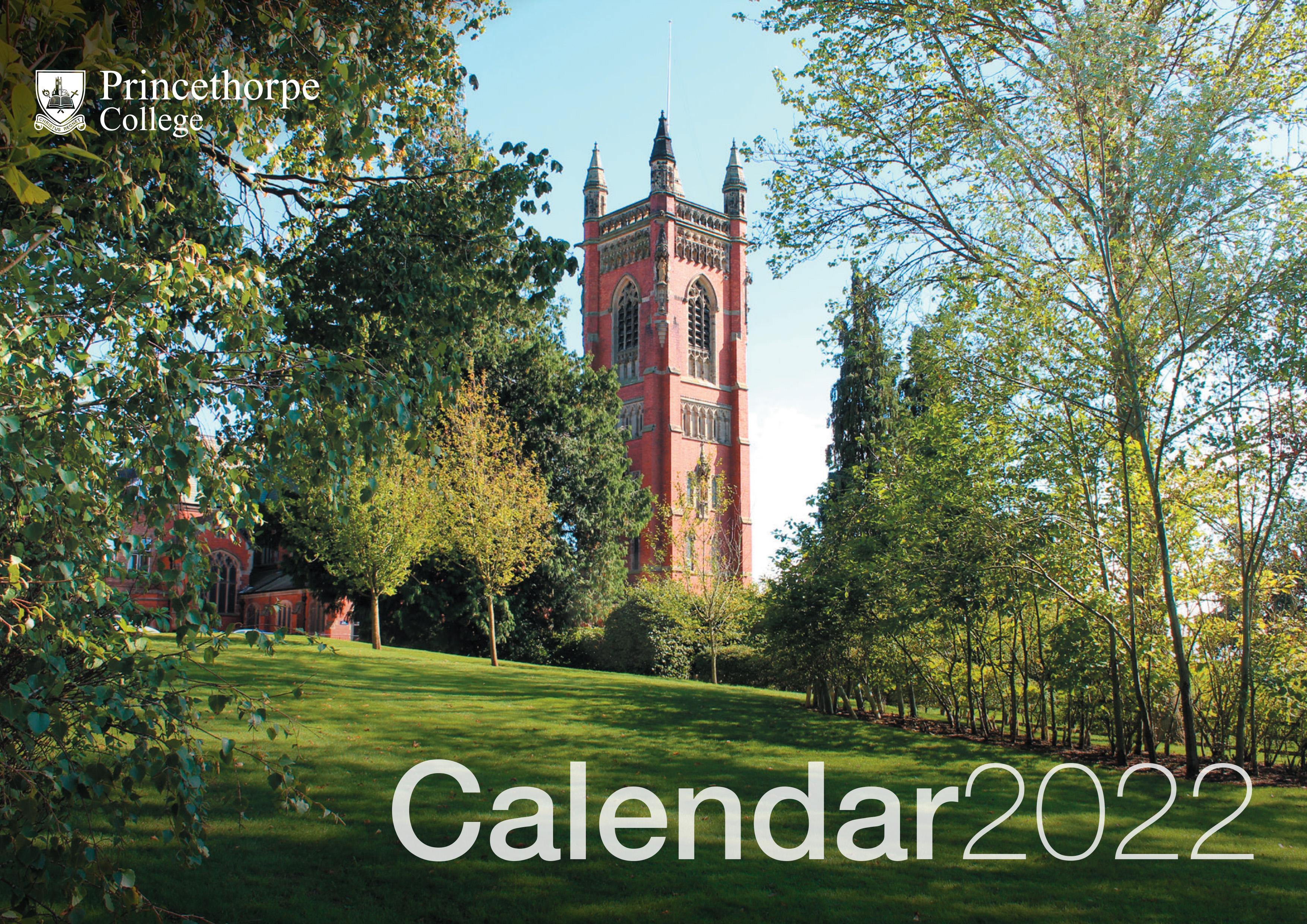 Princethorpe College 2021 Calendar