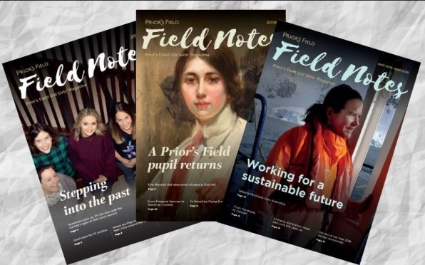 Field Notes - Old Girls' Magazine