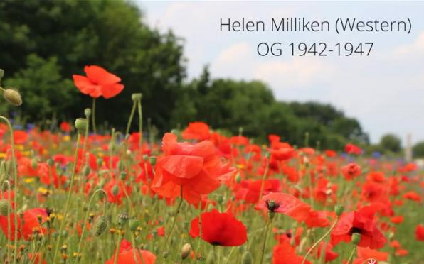 Helen Milliken née Western