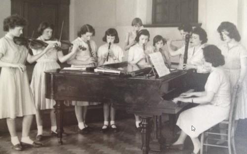 Music lesson at HCS