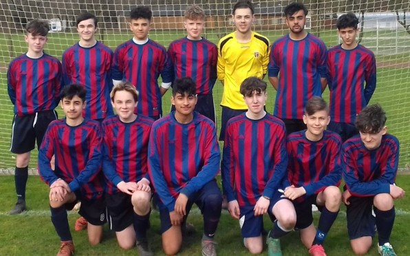 Priory School Football Team