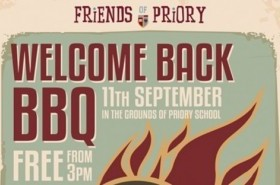 Our Alumni friends are invited to the Friends of Priory Annual Whole School BBQ