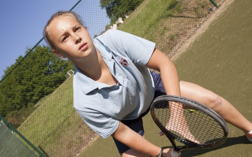 Lilly Mould U18 Tennis Champion