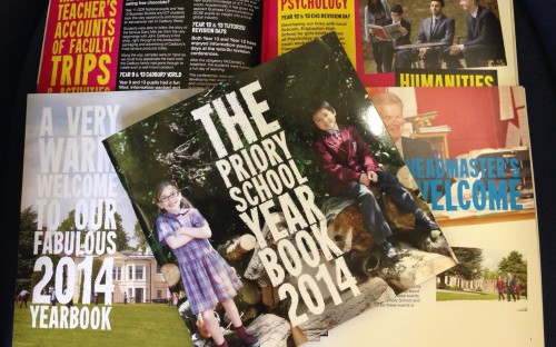 Priory School 2014 Year Book now available!