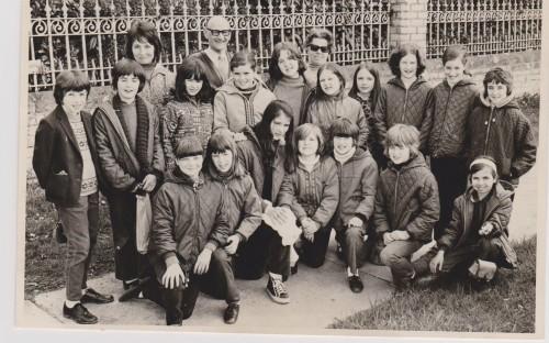 Trip to Llandrindod Wells, Spring 1971