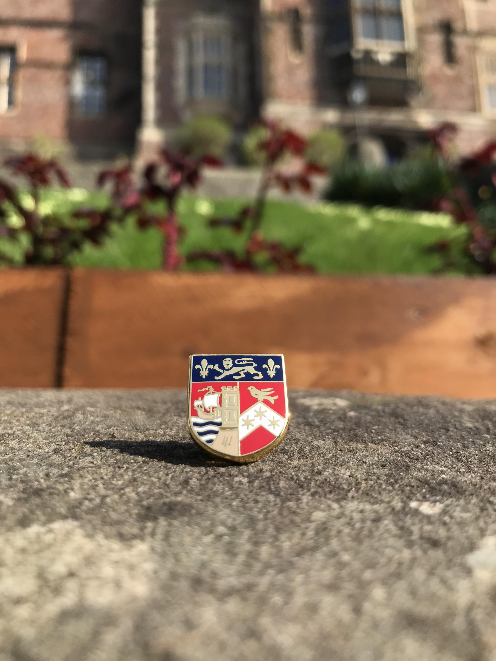 QEH Pin Badge