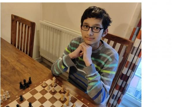 Year 9 student Gaurav K