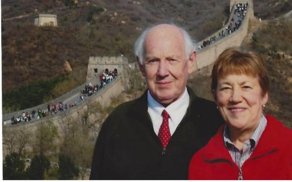 OR Alan Johnson & his wife Barbara.