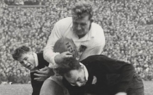 Ted Woodward OW (1944-1948) England Rugby Union Great
