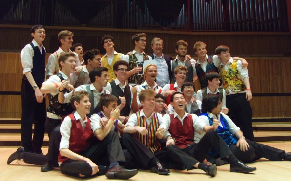 Singers Ltd, the RGS 6th form a capella group