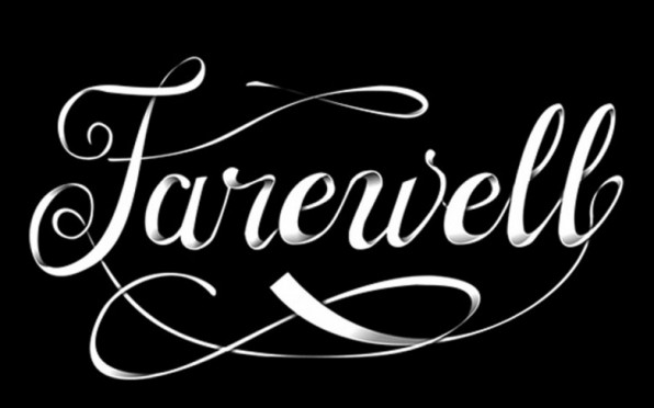 Farewell and best wishes to all!