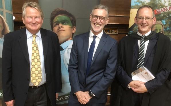Quentin Poole, Carl Arntzen and John Pitt
